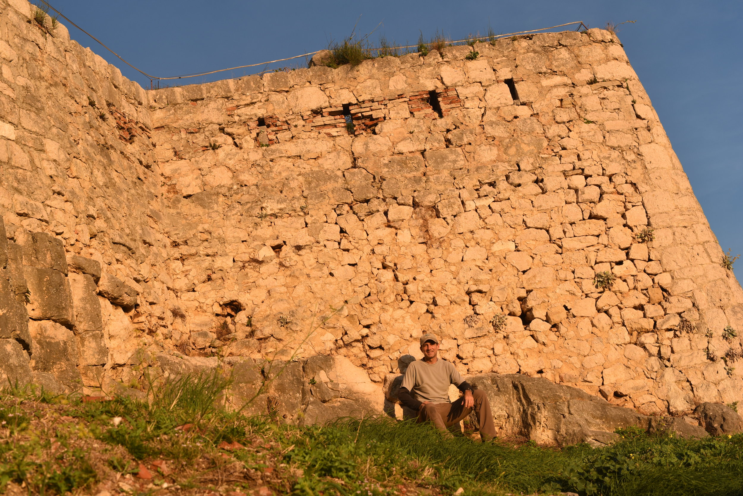 Klis Fortress, in the hills above Split, Croatia.