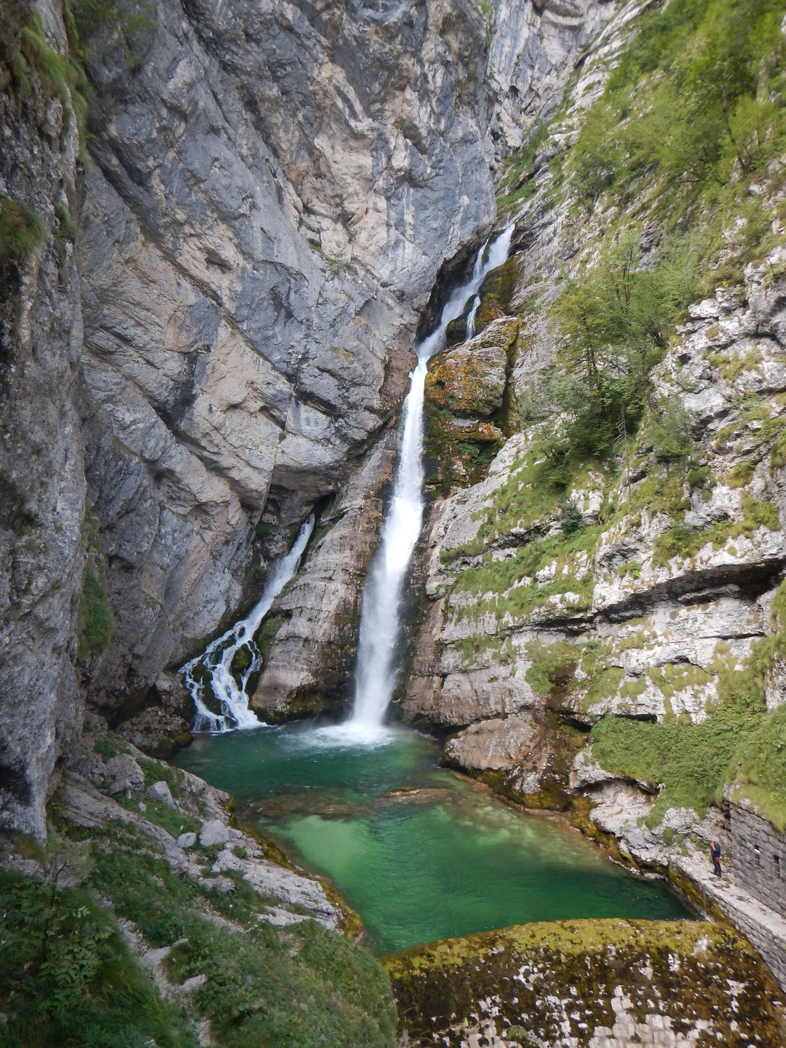 Slap Savica waterfall.