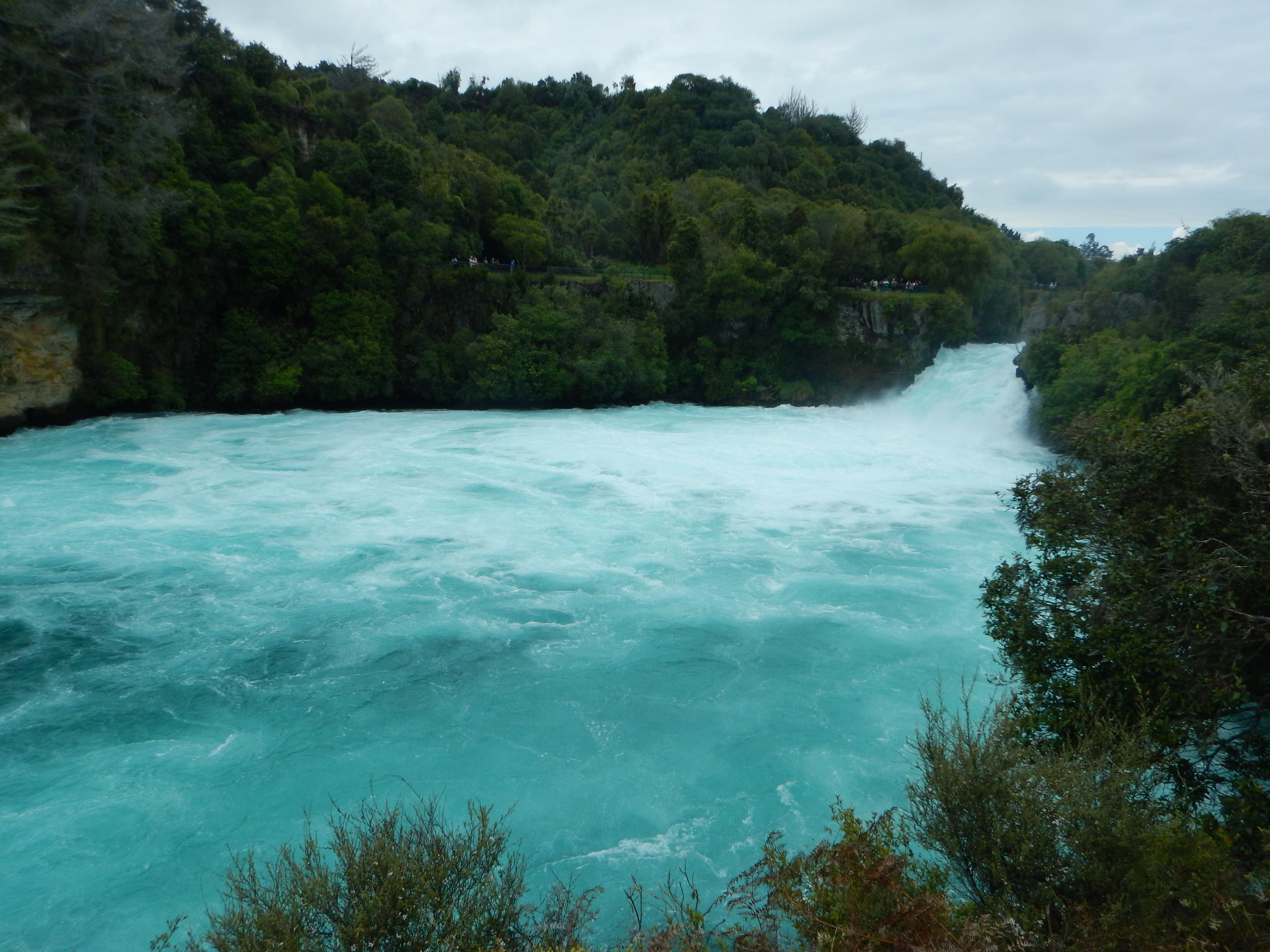 Huka Falls, lower section.