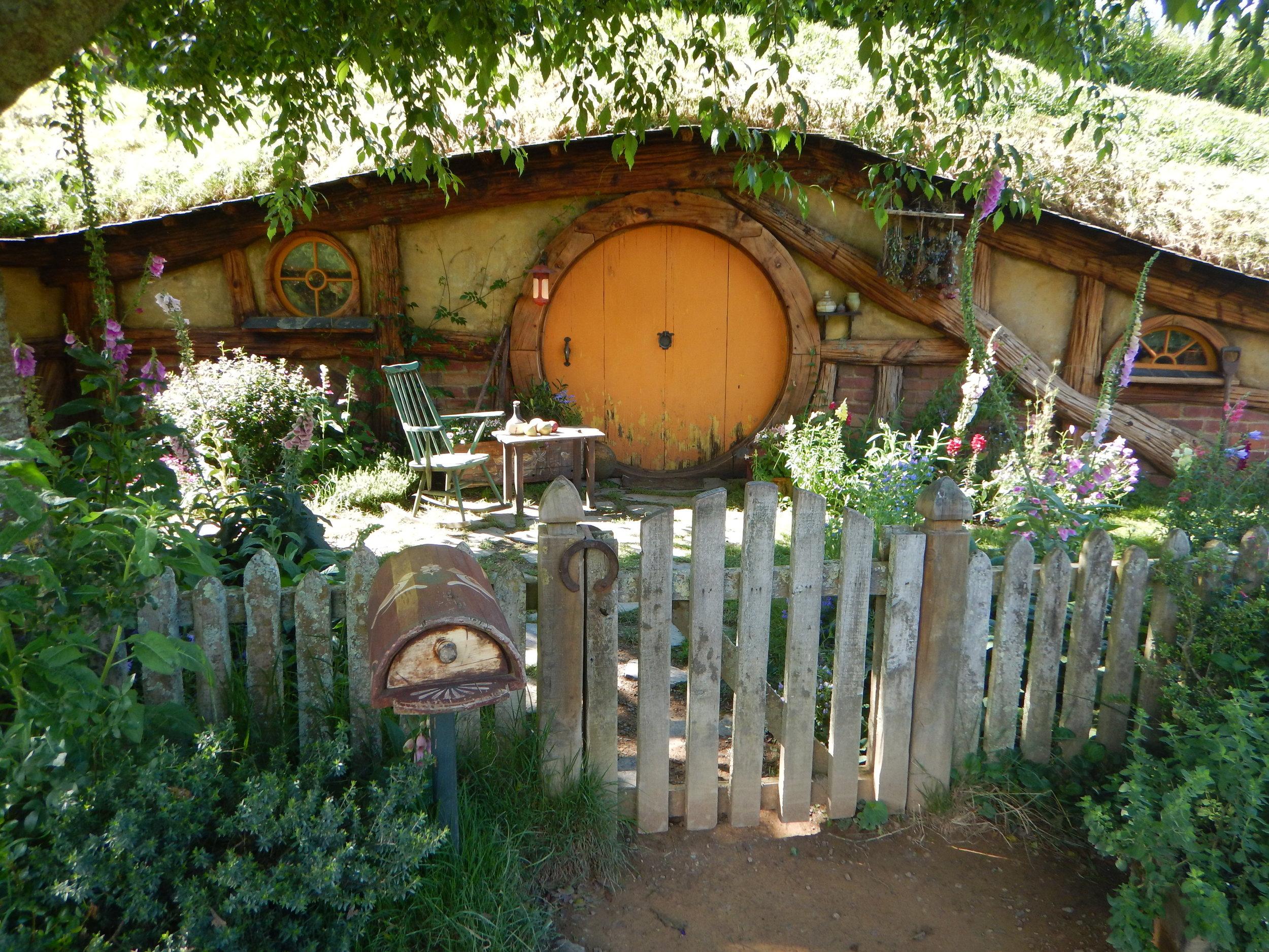 hobbit home.