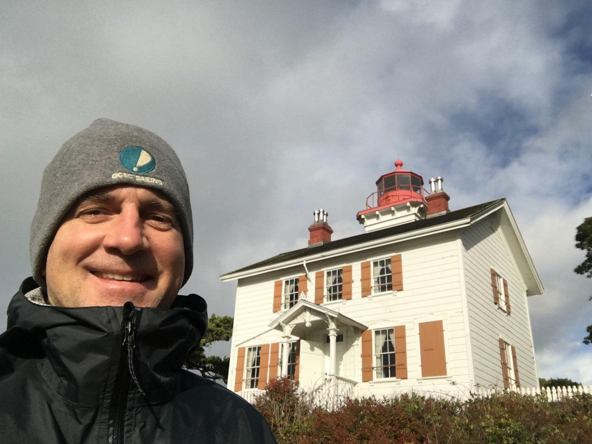 yaquina bay lighthouse, oregon.
