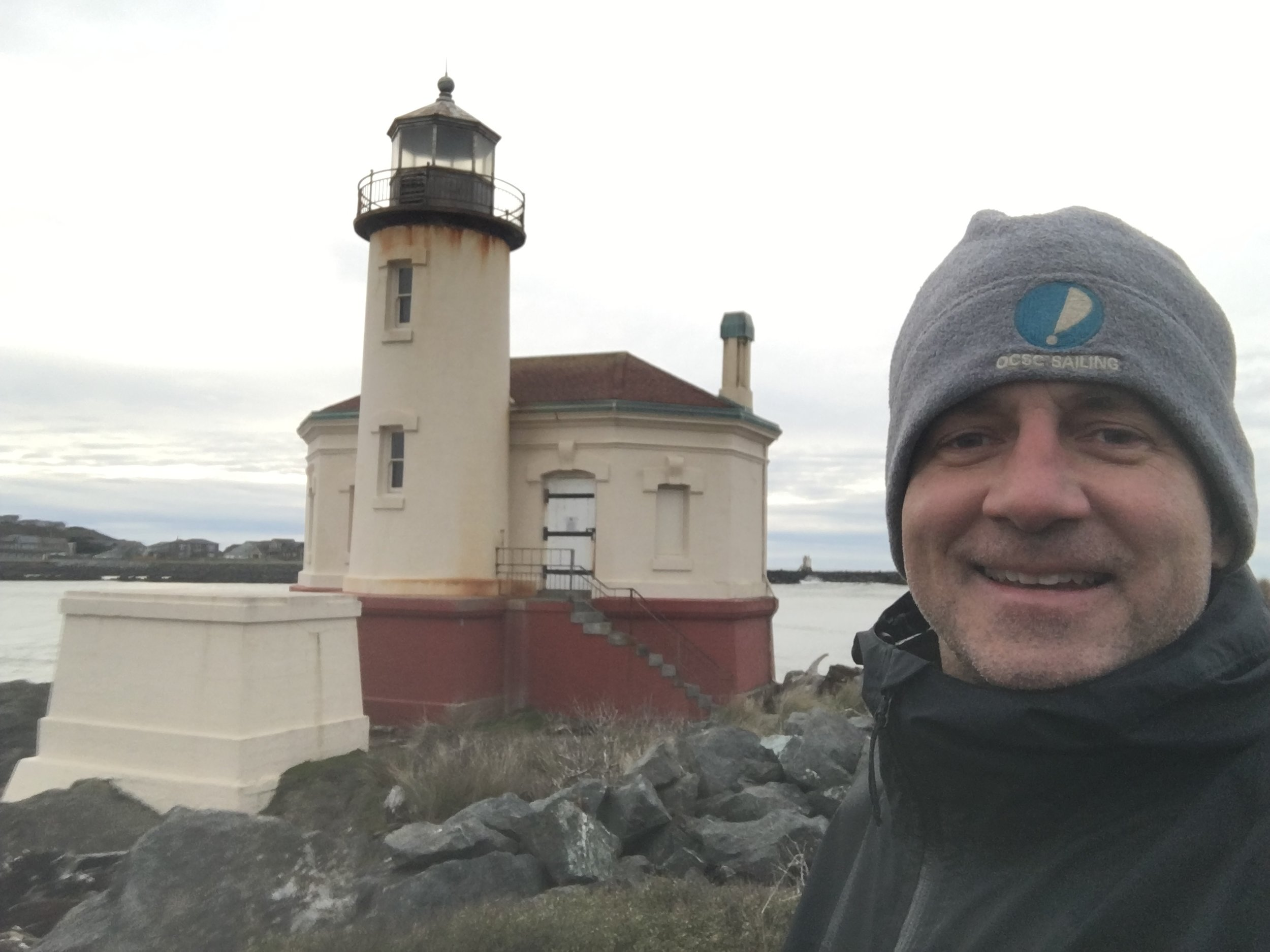 coquille river lighthouse, oregon.