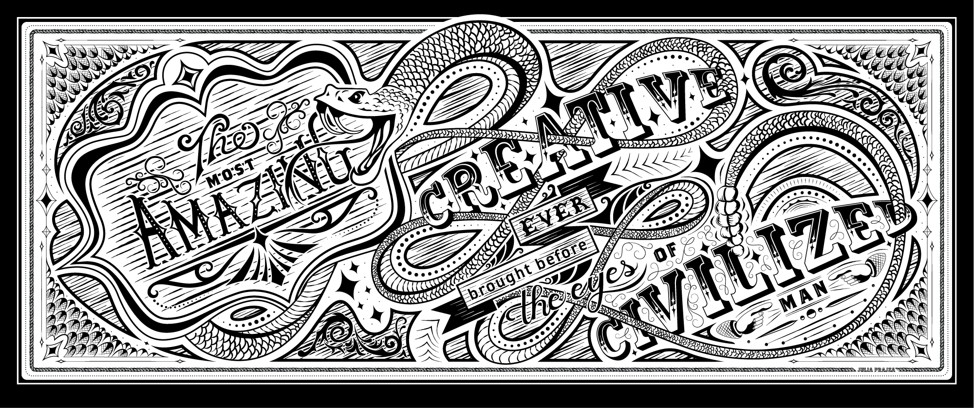 AFTER:  Final digital and vectorized design ready for print.