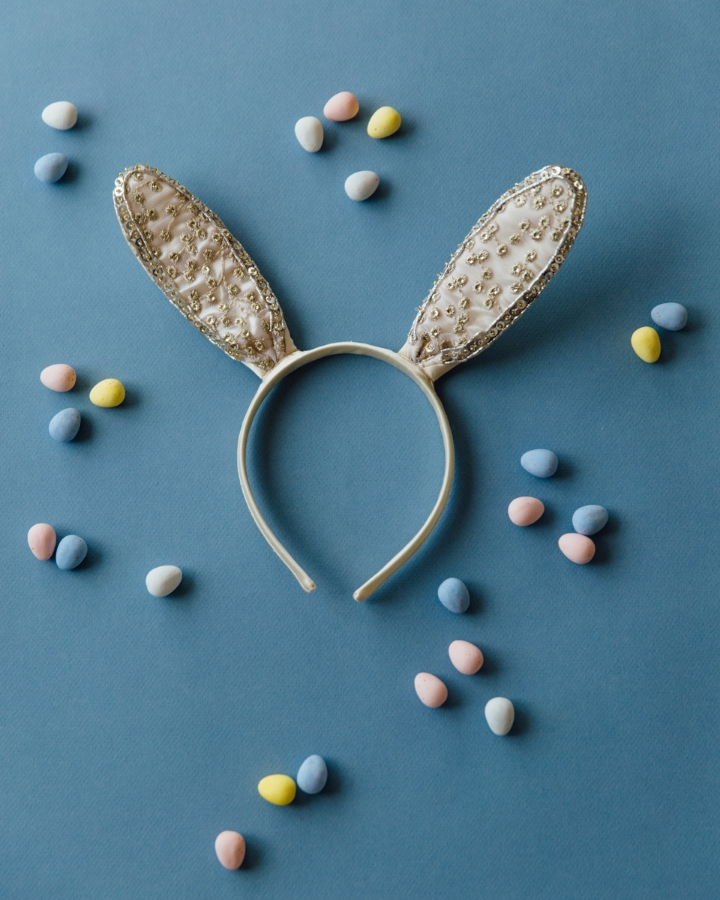Bunny Headband by  Anthropologie