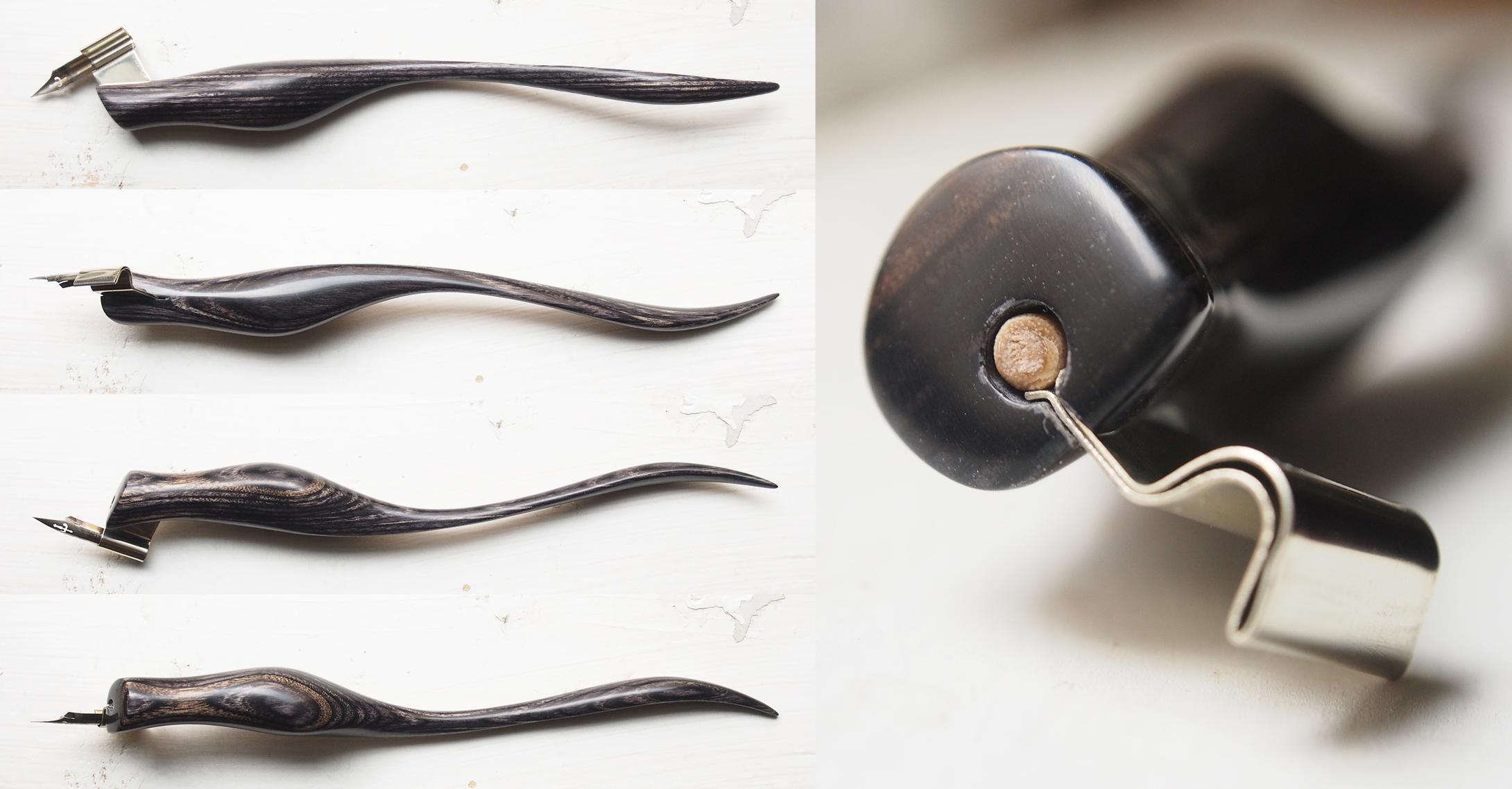 Custom Designed Left Handed Grey Laminate