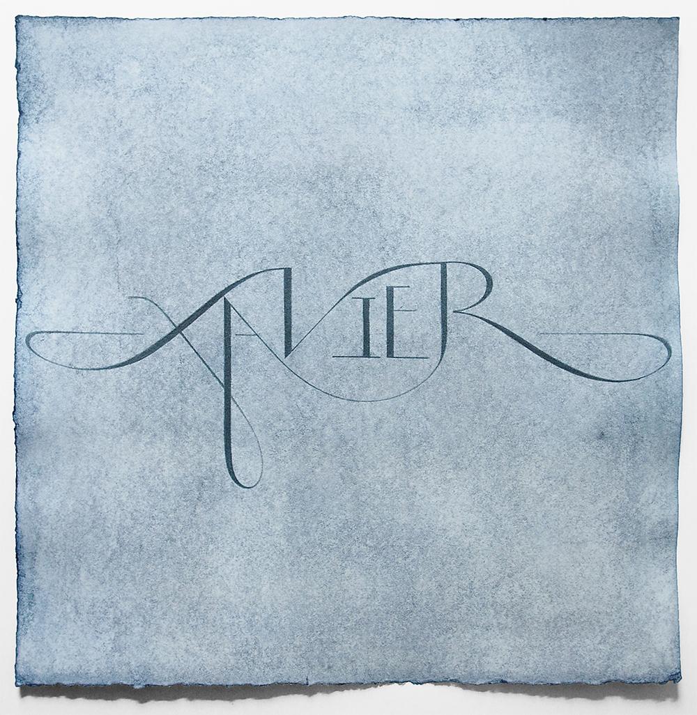 Hand Lettered Name Design