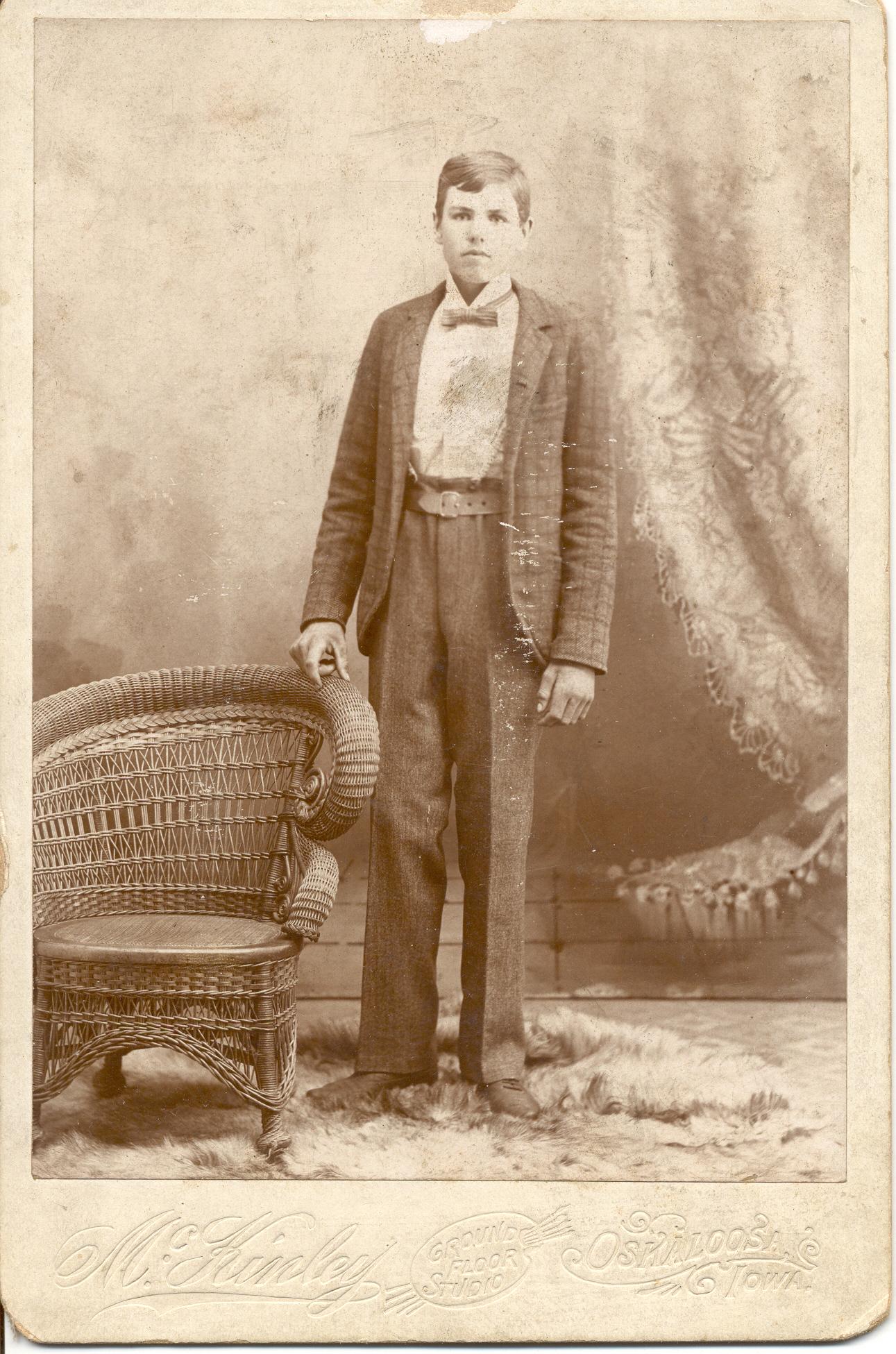 JF Hook in 1898