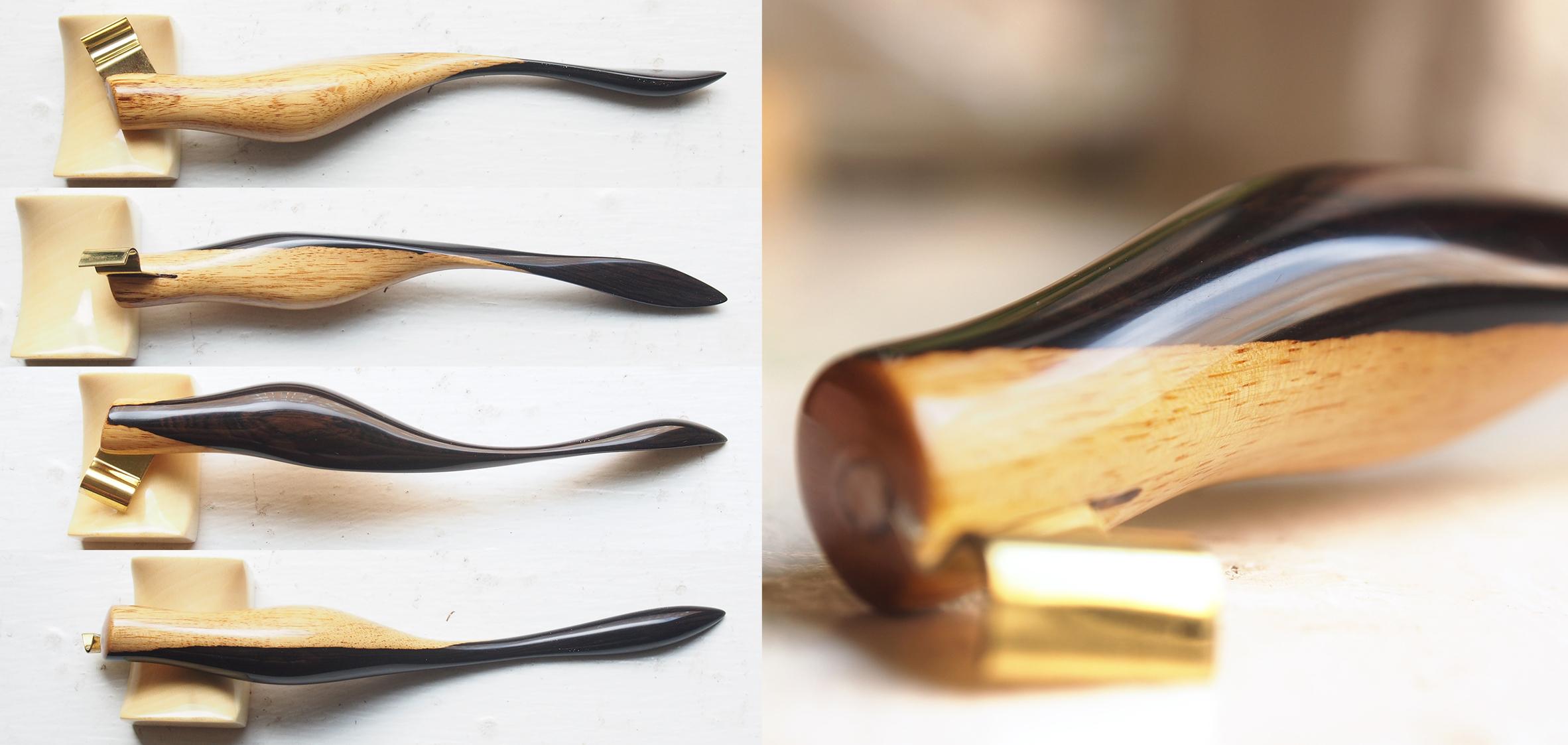 Black & White African Blackwood