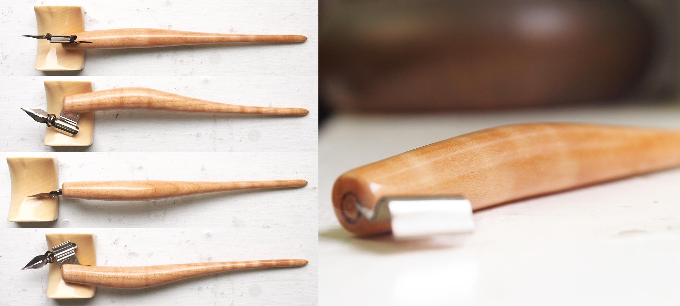 Traditional Strahm Ergo Replica - Fiddleback Maple
