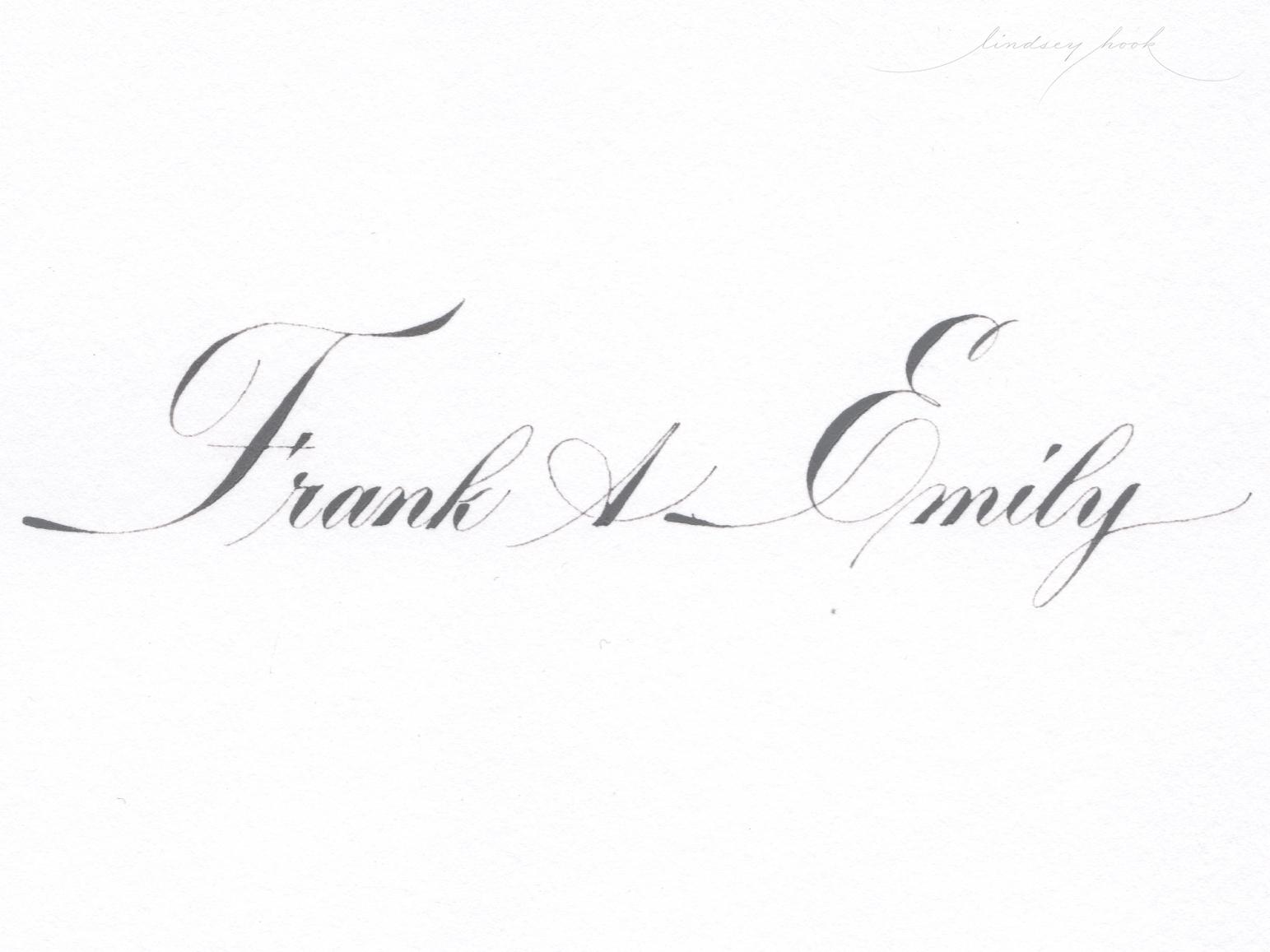 Engrosser's Script - Italian Variant