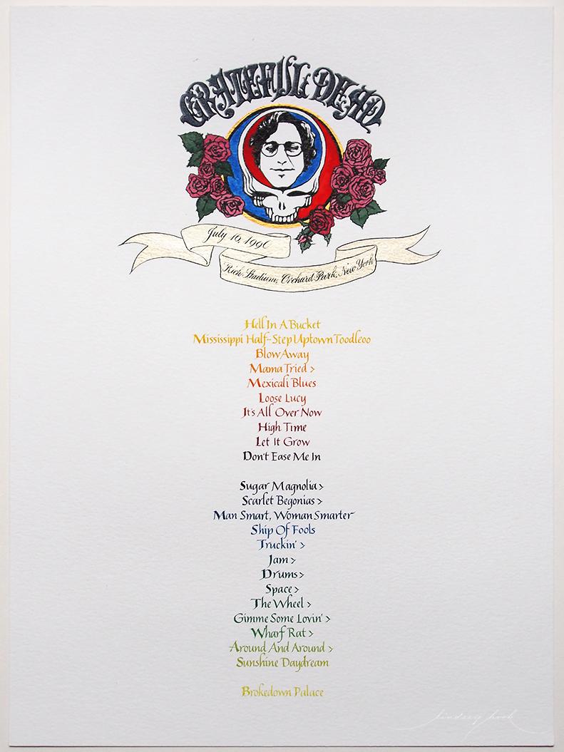Grateful Dead Set List #1