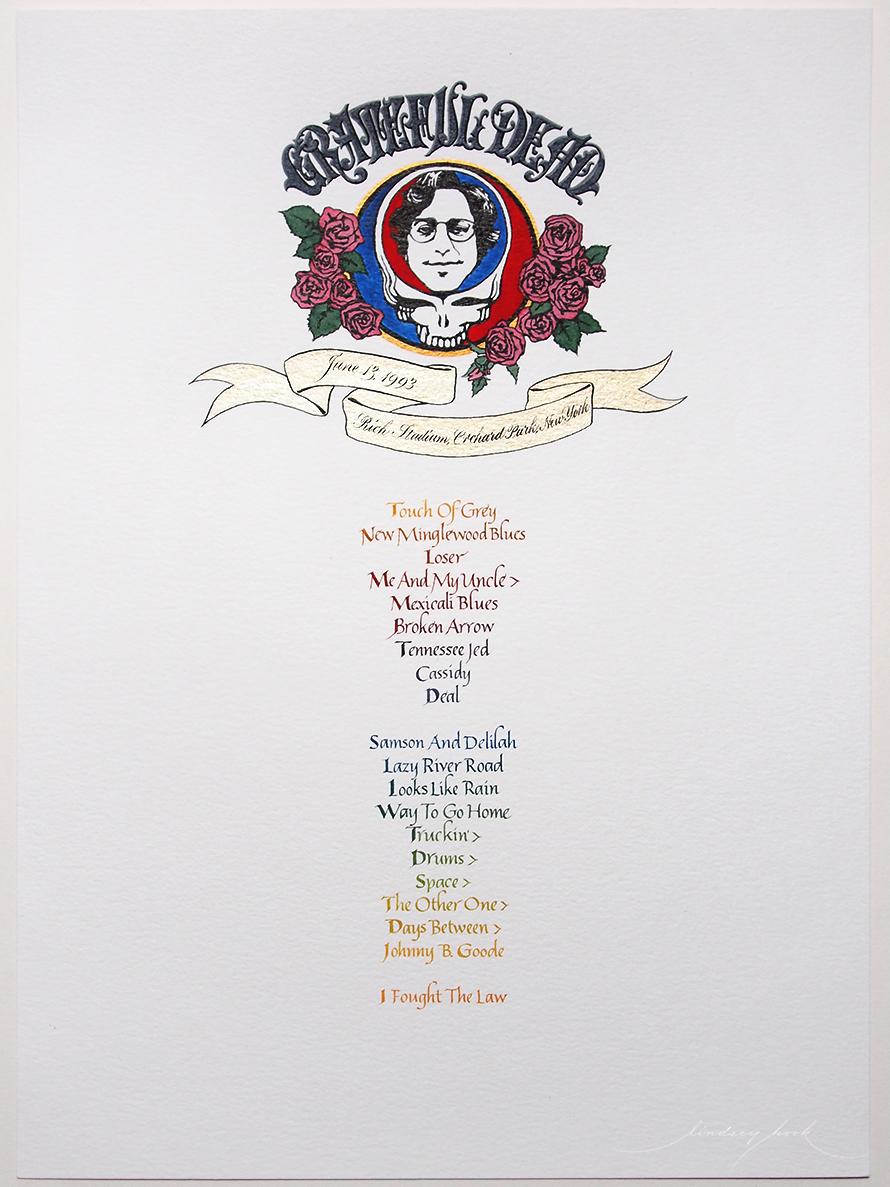 Grateful Dead Set List #4