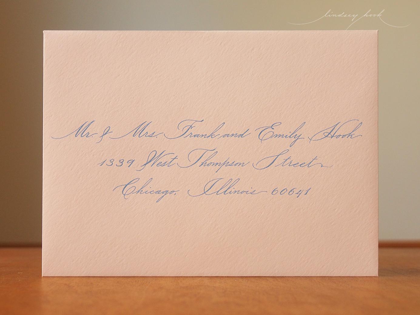 Allyson Script Envelope