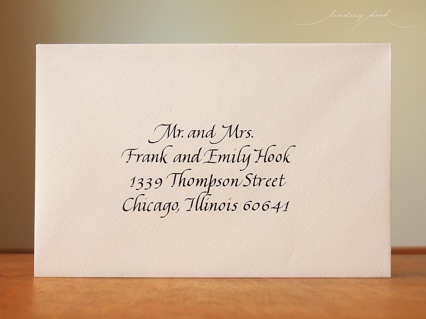 Italic Envelope