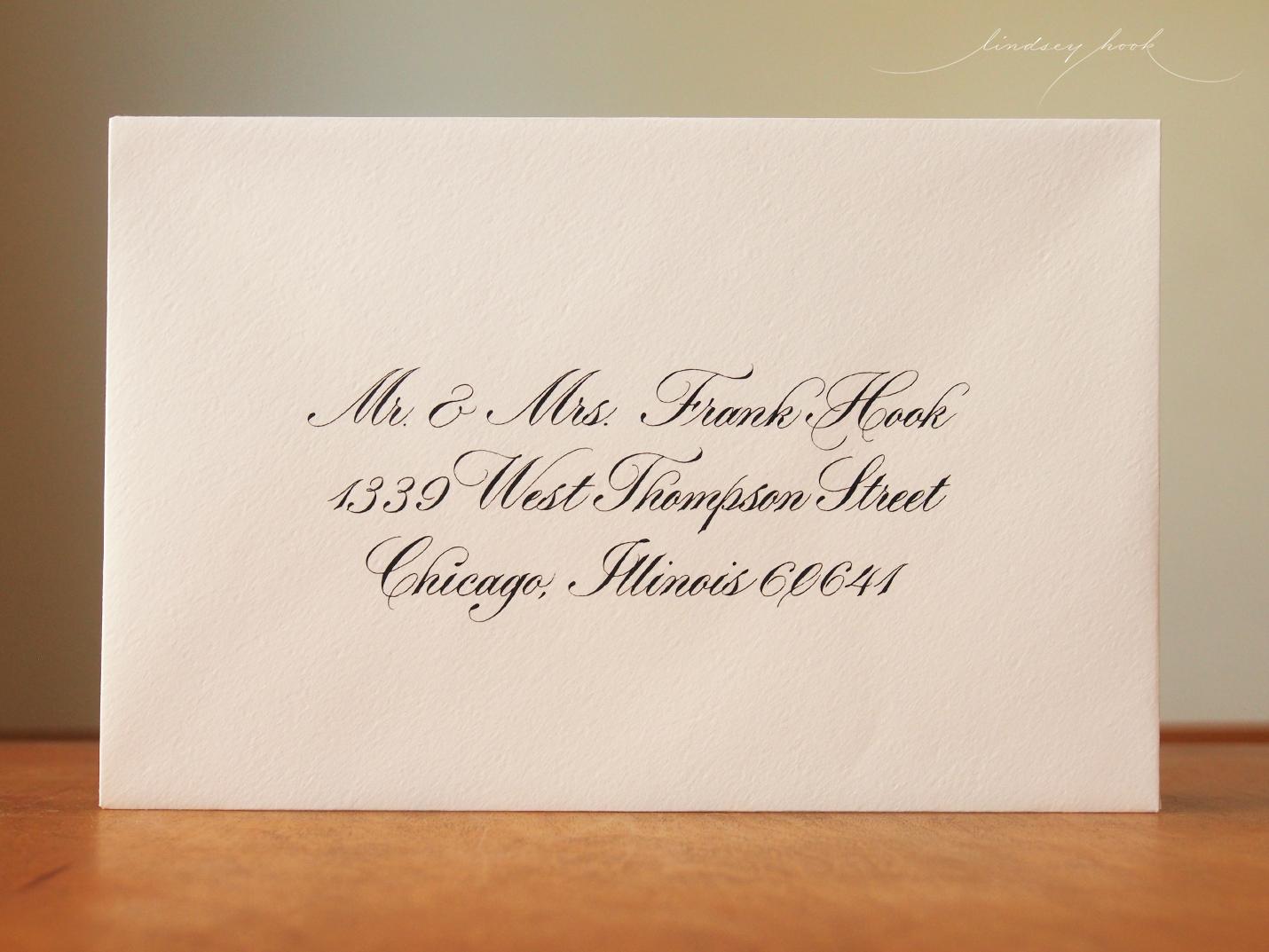 Parfumerie (Text) Envelope