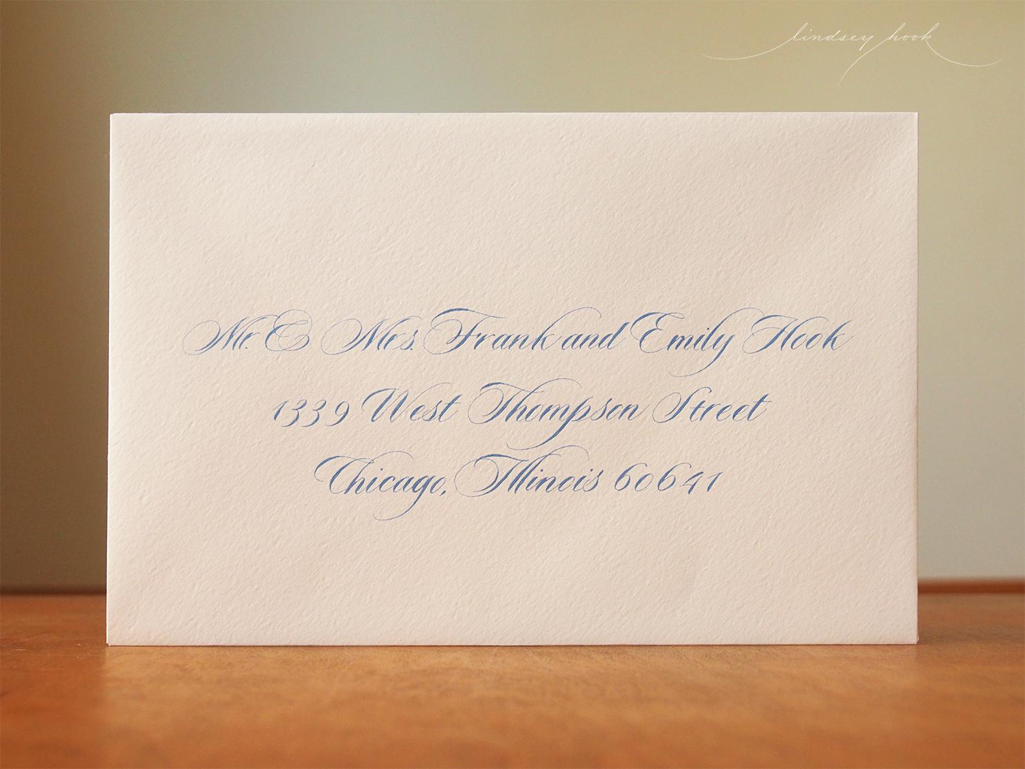 Sloop Script Envelope