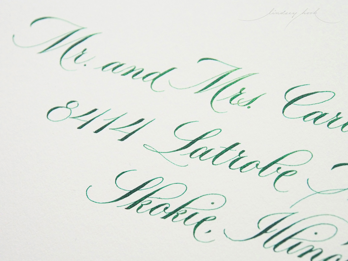 Simple Loopy Copperplate Outer Envelope