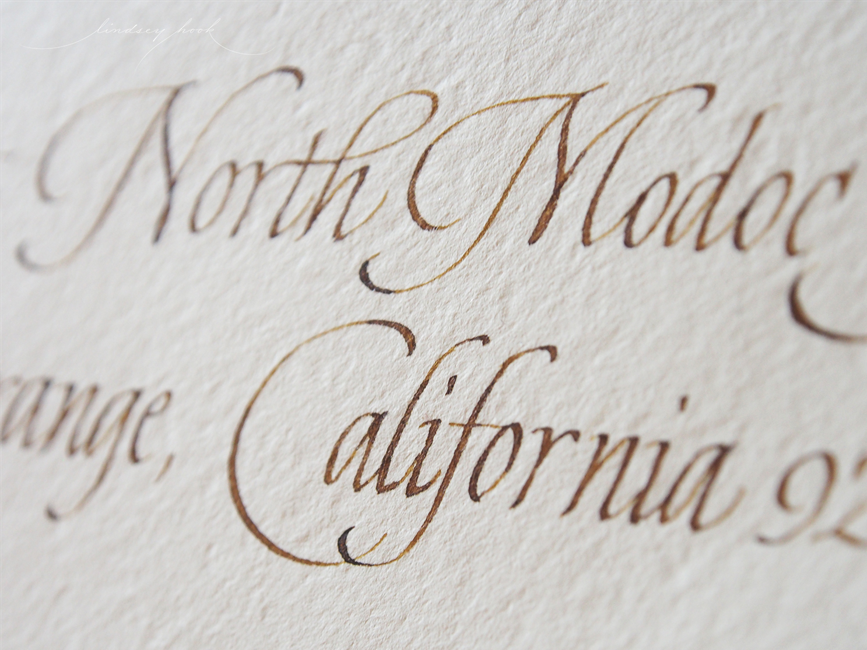 Lightweight Italic Envelope