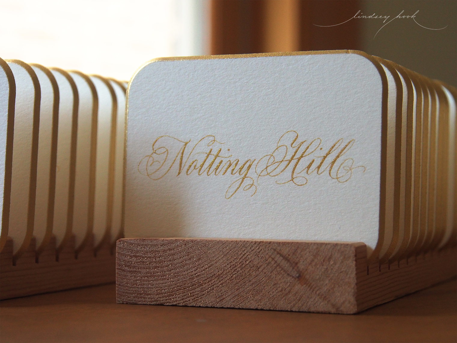 Table Name Escort Cards