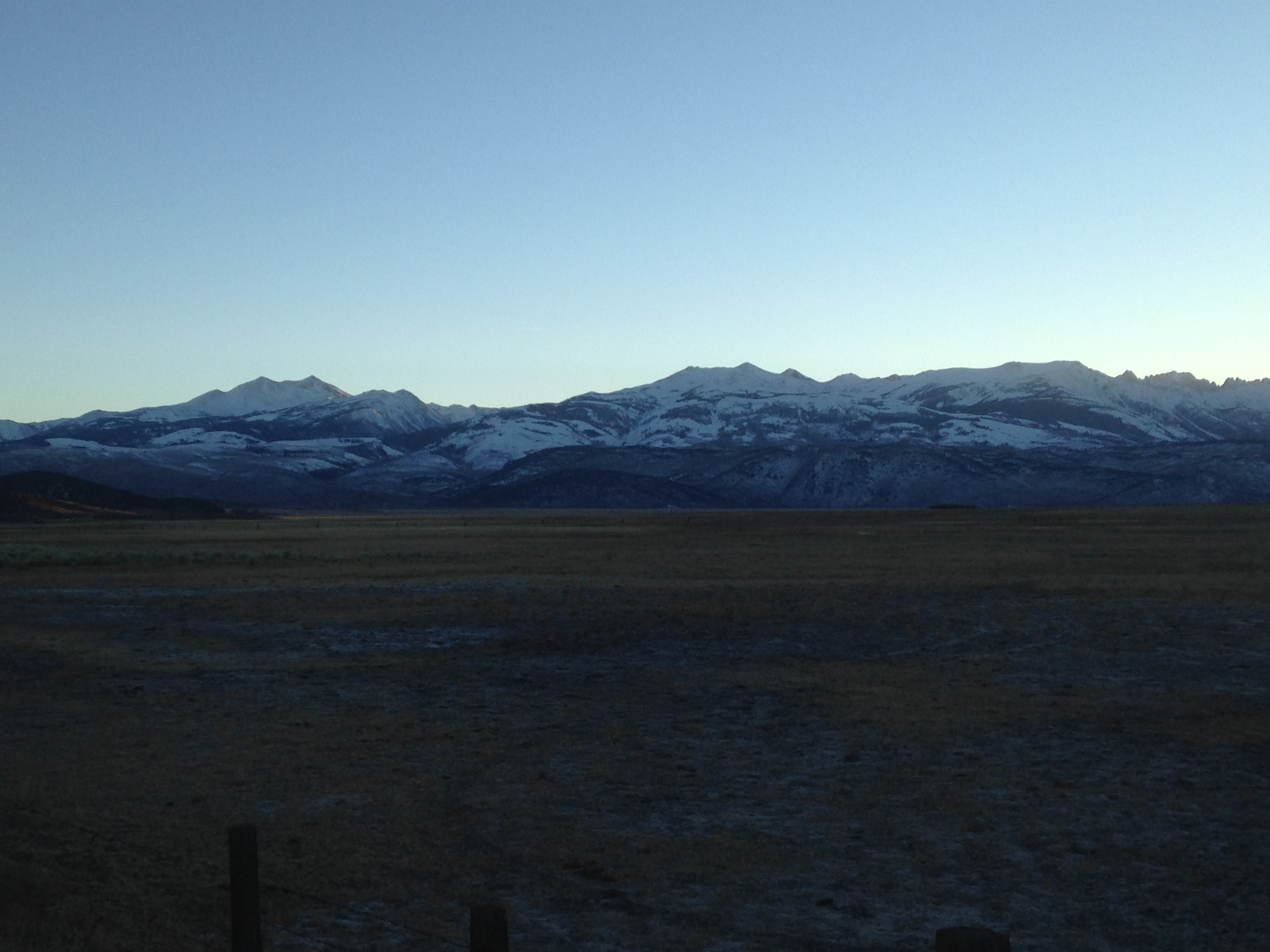 some of the vistas along 395