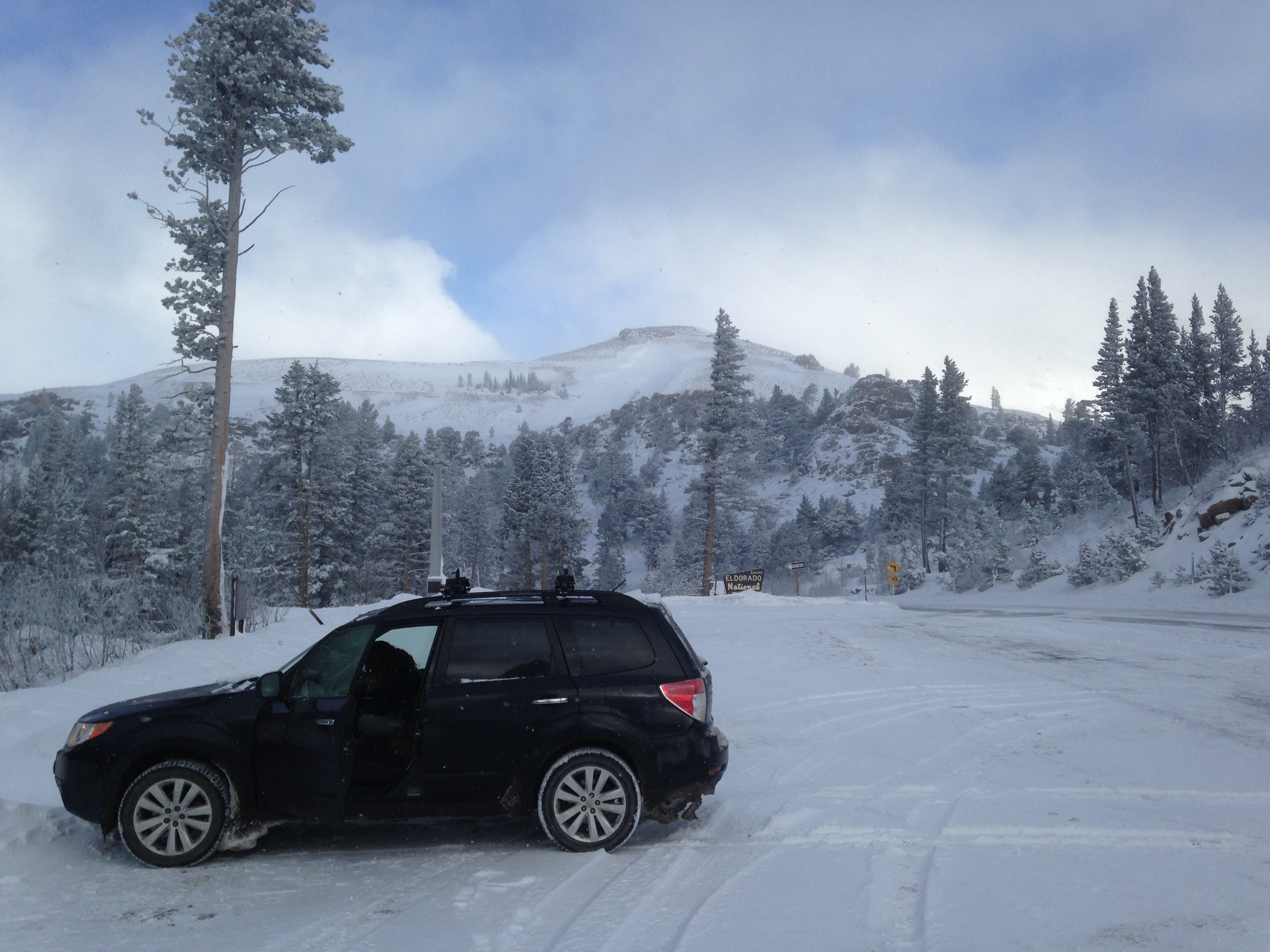 dad car at Carson Pass