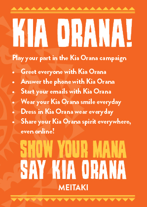 Play your part in the Kia Orana Campaign with these simple tips!  Click image to download