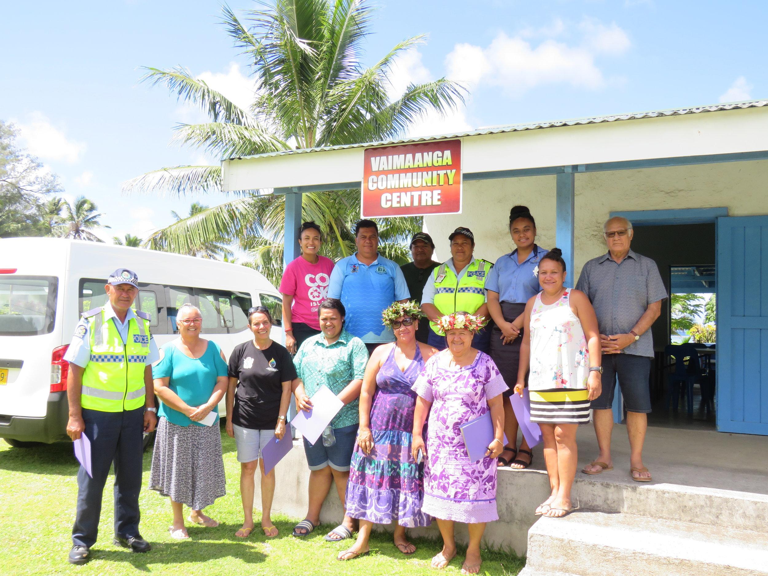 Vaka Pride committee visits the Vaimaanga Community Centre.JPG
