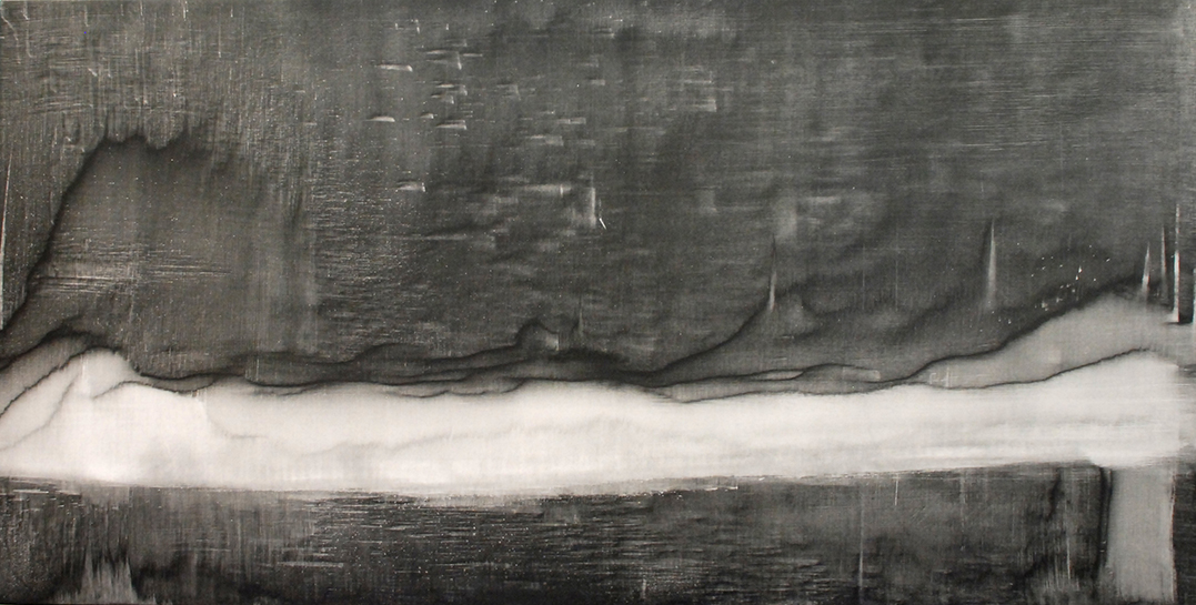 """""""Untitled"""" - Acrylic on Panel 48 X 24 Inches"""