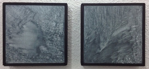 """""""Untitled"""" - Acrylic on Panel 8 X 8 Inches Each"""