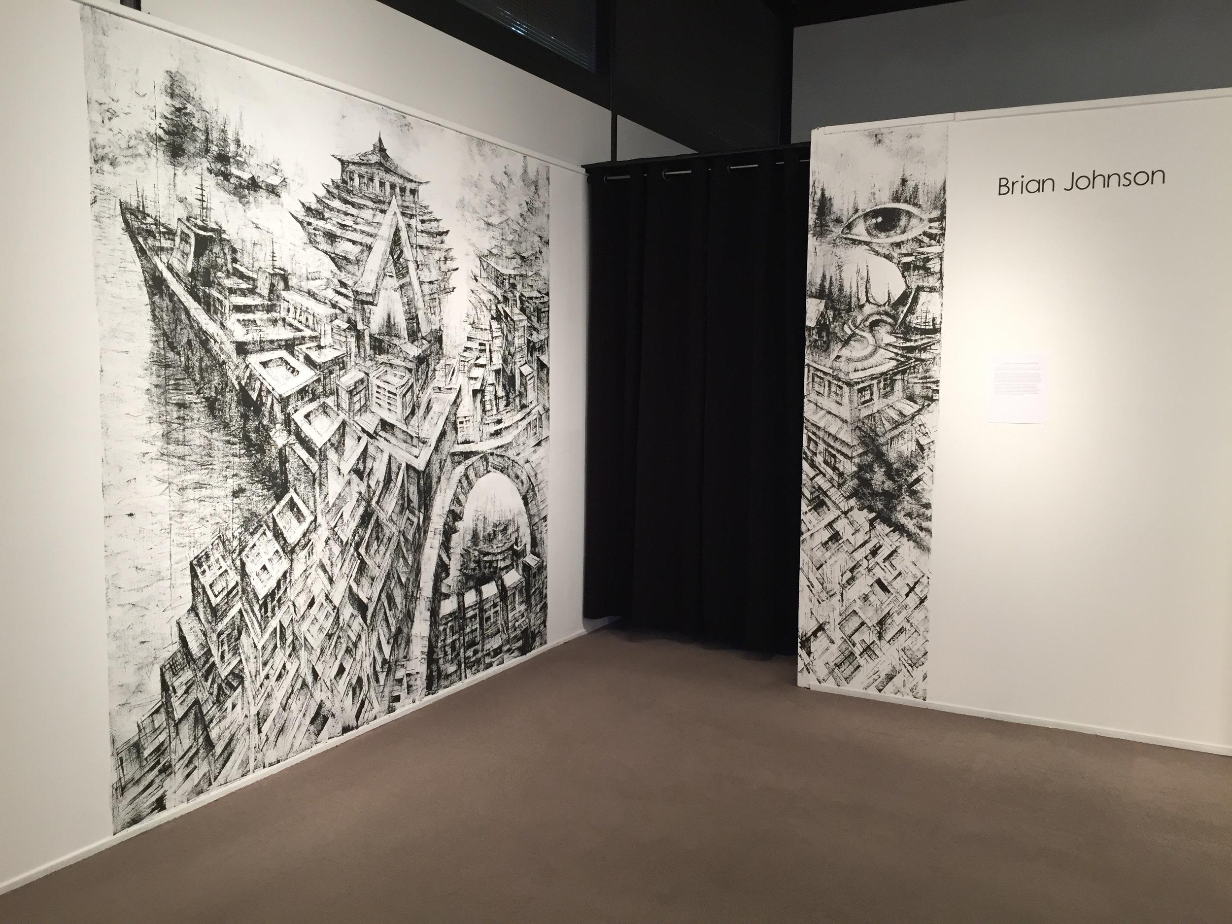 Brea Gallery Installation Shot. Brea CA. 2016