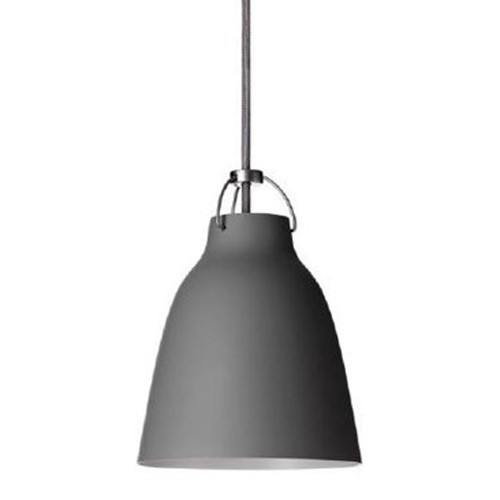 Lightyears-Caravaggio matte gray pendant light.