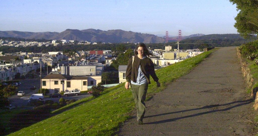 """Quintara, is not """"keen-tahra"""" but is """"kwin-terra."""" Pictured: Sunset Reservoir at Quintara and 28th Ave. in San Francisco."""