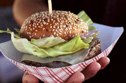 4505's Best Damn Grass-Fed Cheeseburger