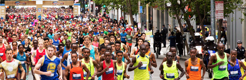 Image credits Alaska Airlines Bay to Breakers