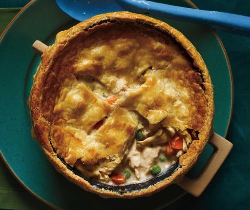 Chicken Pot Pie - The perfect comfort food for those crisp fall nights!If you're looking for an easy recipe to satisfy your comfort food cravings, look no further. Head on over to the blog and grab the delicious recipe here.