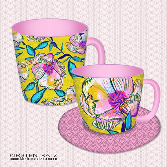 Coffee Mug and Tea Cup Set product design concepts