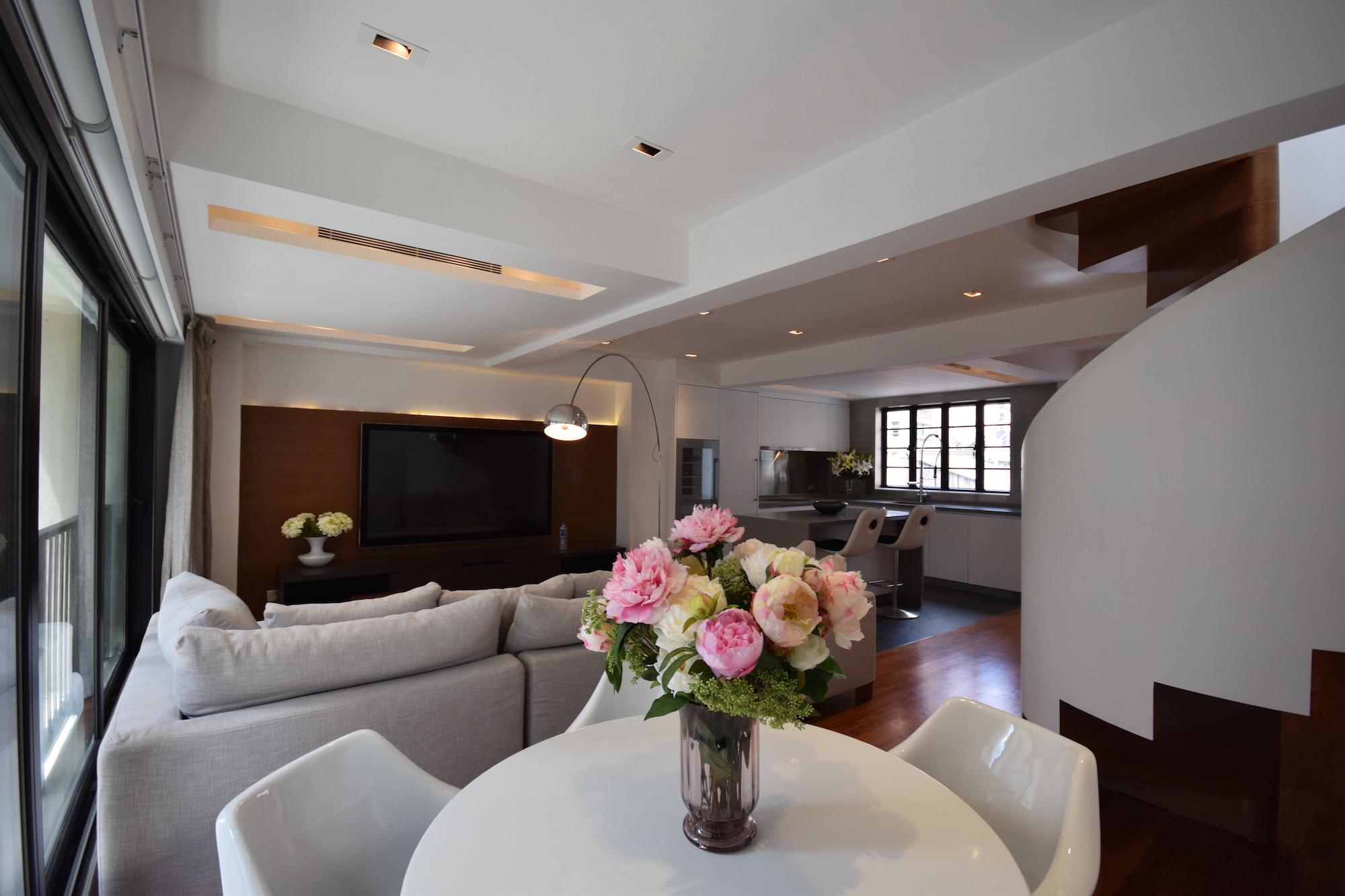68 PEEL STREET DUPLEX (SOLE AGENT) HK$26M  Peel Street, Soho