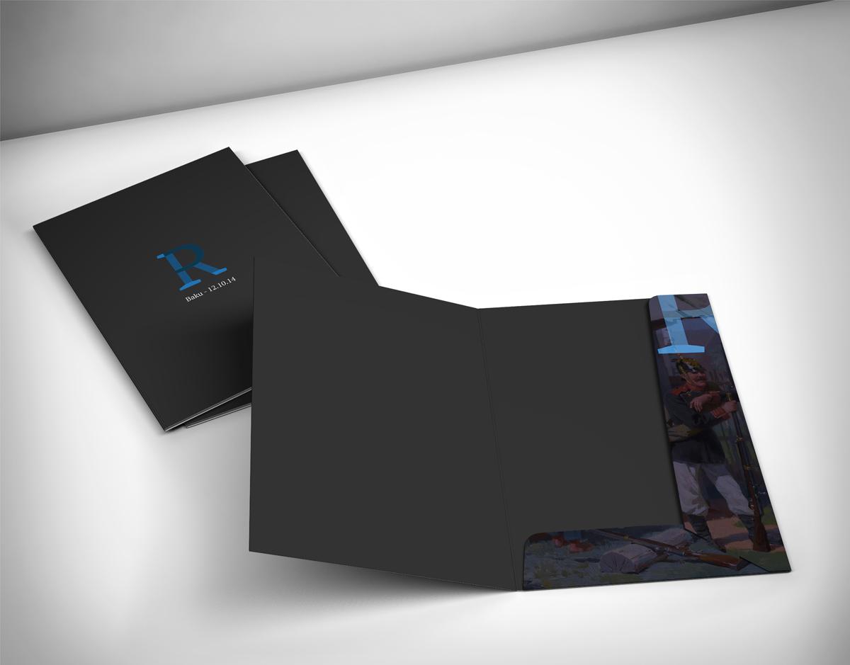 Auction folder design