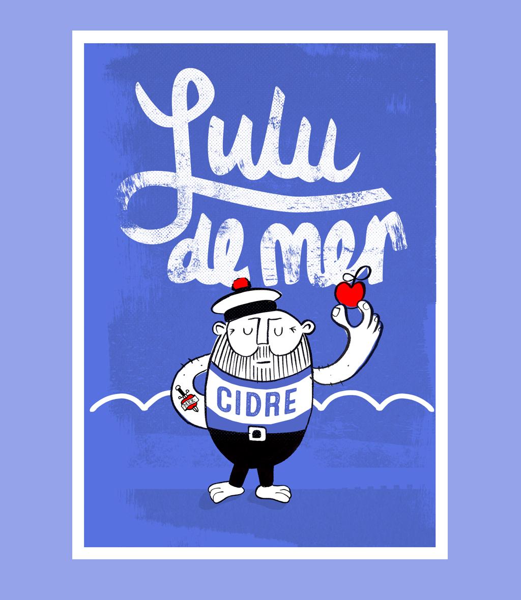 Lulu label design