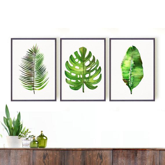 47 - Artwork palm mosntera banana leaf.jpg