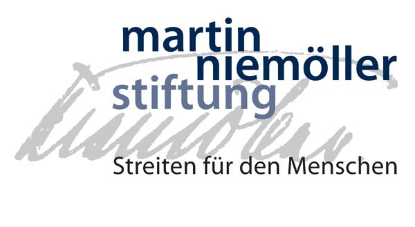 Sponsorenlogo Martin Niemöller Stiftung. Wiesbadener Burgfestspiele.