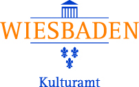 Sponsoren Logo Kulturamt Wiesbaden. Wiesbadener Burgfestspiele.