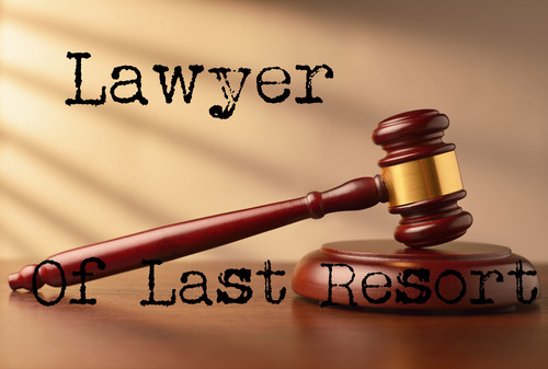 Lawyer of Last Resort  LOLR helps individuals who have been denied legal aid or were given inadequate legal aid to obtain satisfactory legal representation.