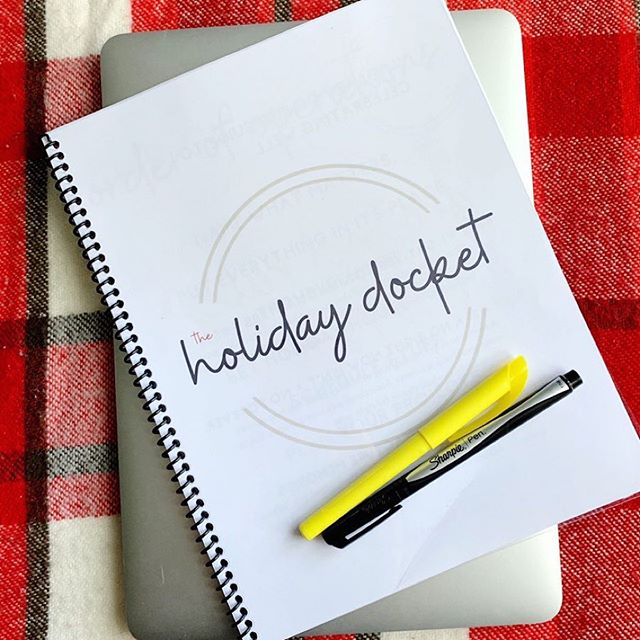 Want a peek into The Holiday Docket? It's the Lazy Genius guide to celebrating well, and I'm sharing some personal thoughts in stories today. 🍁 If you need someone to reorient your brain so the holidays will actually be life-giving instead of soul-sucking, this little ebook is your ticket. Early bird pricing of $22 is available until tomorrow, September 5th at midnight EST. It goes up to $39 after that and will be available throughout the rest of the year. Click the link in my profile or check out the story and swipe up. 🎉☑️
