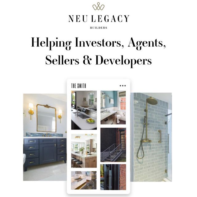 Time is money, right? Traditional real estate channels aren't always going to yield the best results. Our team of experts @neulegacybuilders are ready to design and execute a unique, innovative strategy needed to properly launch, list and sell your (or your clients') properties and new developments. We'll build the strategy, while you focus on the other important things in your life and business. It's that easy.