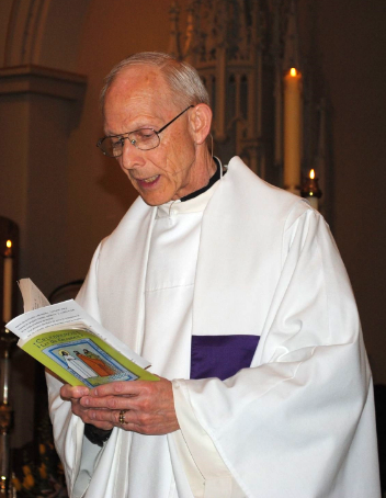 Msgr. Michael D. Hazard, Pastor of St. Joseph Parish, Kalamazoo