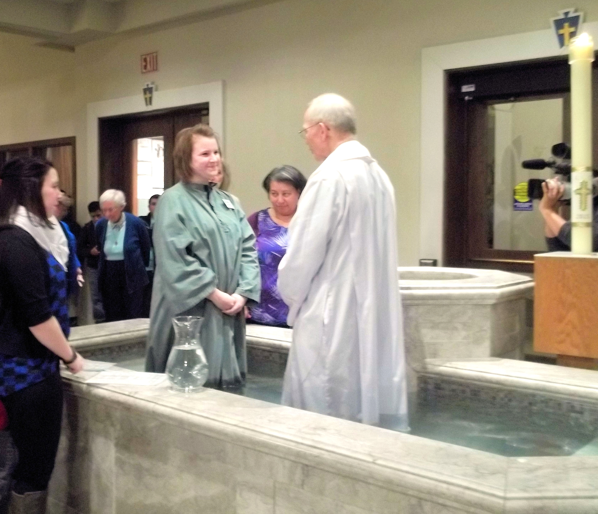 Profession of Faith before Baptism