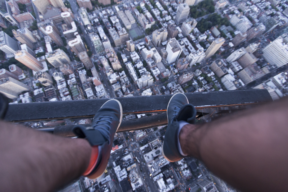 Shoe selfie #3  Canon 6D, Canon 16-35mm f/2.8L @16mm (iso1250, f/2.8, 1/100s)