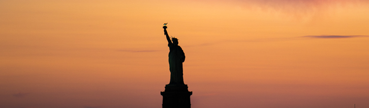 austin paz statue of liberty silhouette