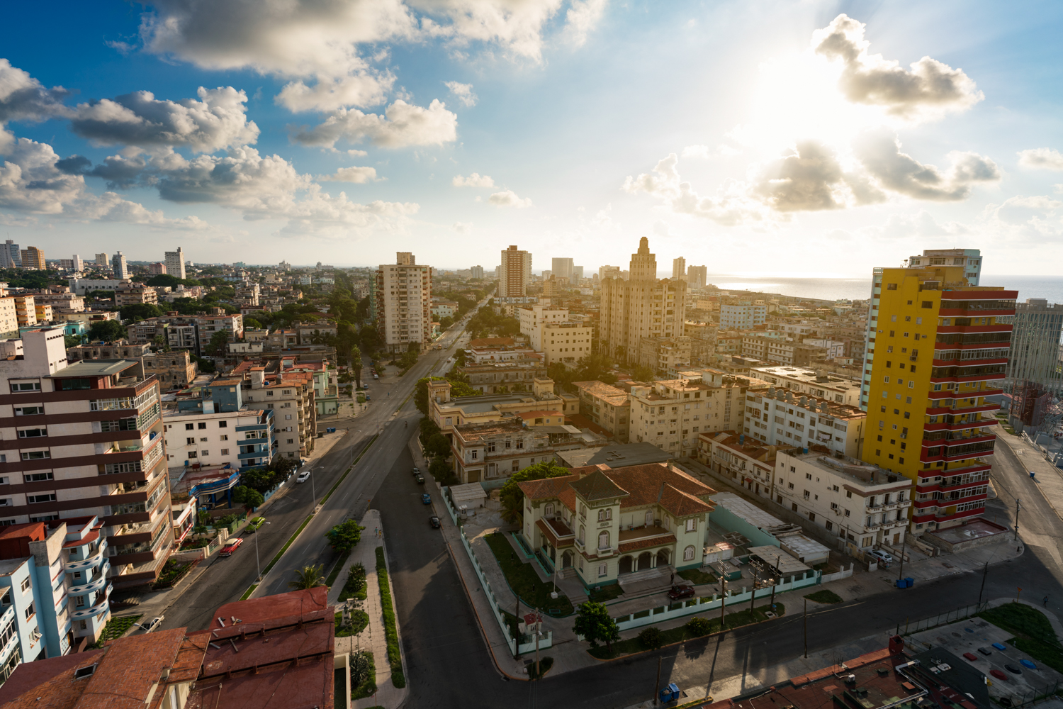 This was the view that greeted us on the first evening of arrival to our Airbnb in Havana.  Sony A7RII, Zeiss Batis 18mm f/2.8 (iso 50, f/5.6, 1/400s)